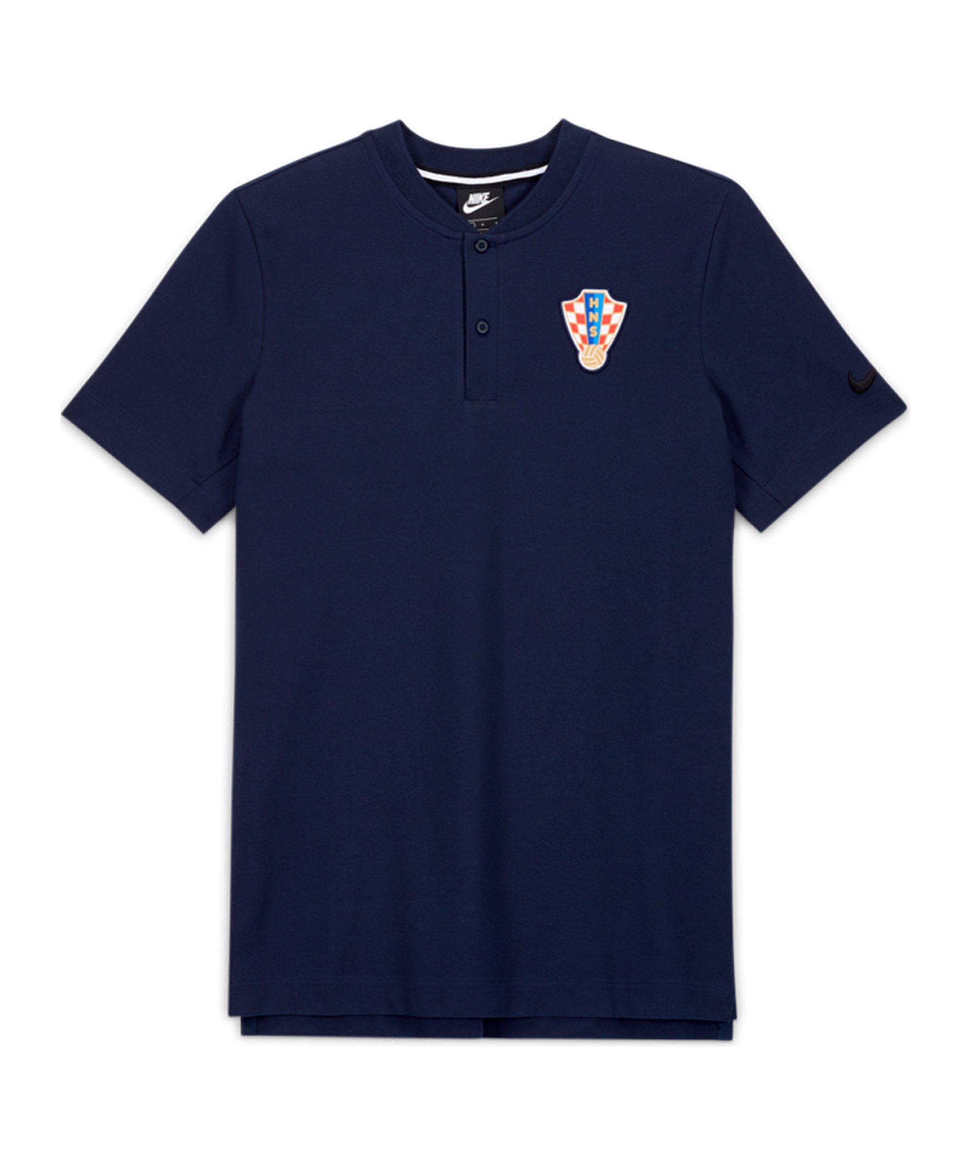 Nike Kroatien Modern GSP T-Shirt Grau F451 - grau