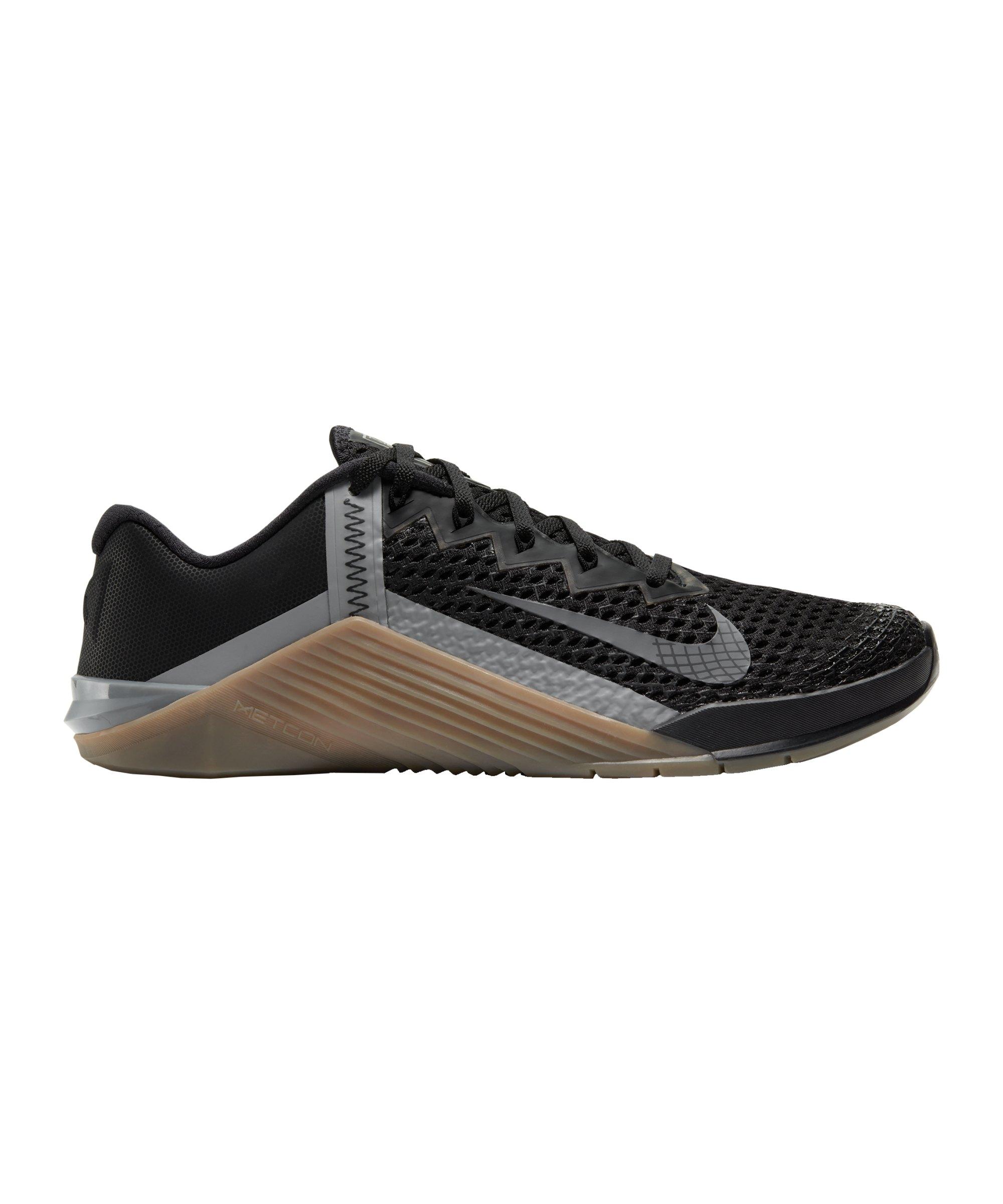 Nike Metcon 6 Training Schwarz Grau F002 - schwarz