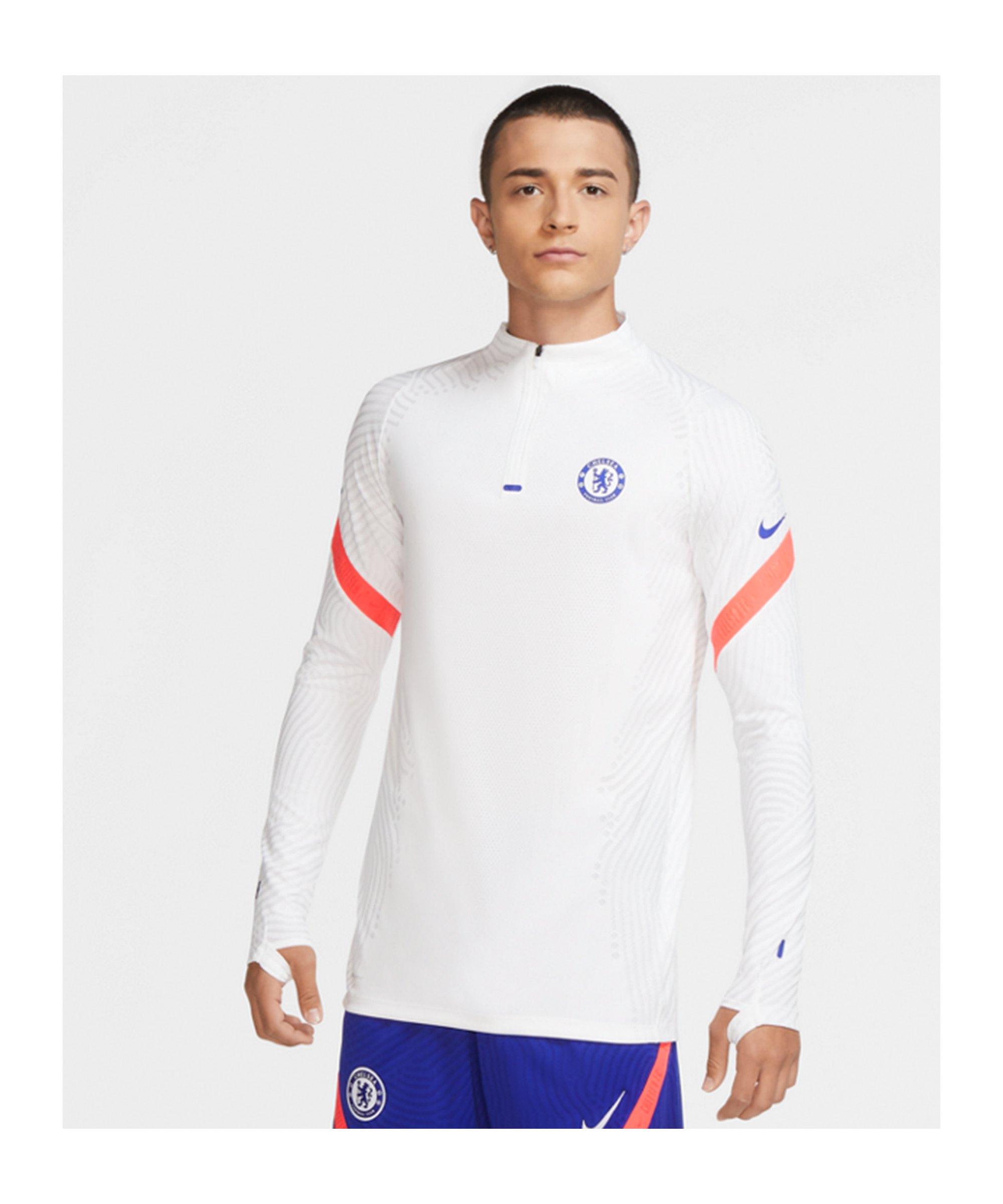 FC Chelsea London Vapor Knit Drill Top CL Weiss F101 - weiss