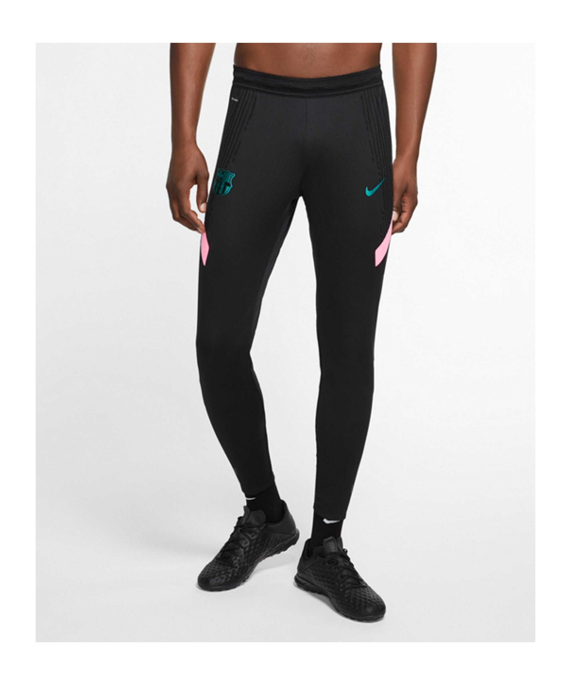 Nike FC Barcelona Vaporknit Hose Schwarz F010 - schwarz