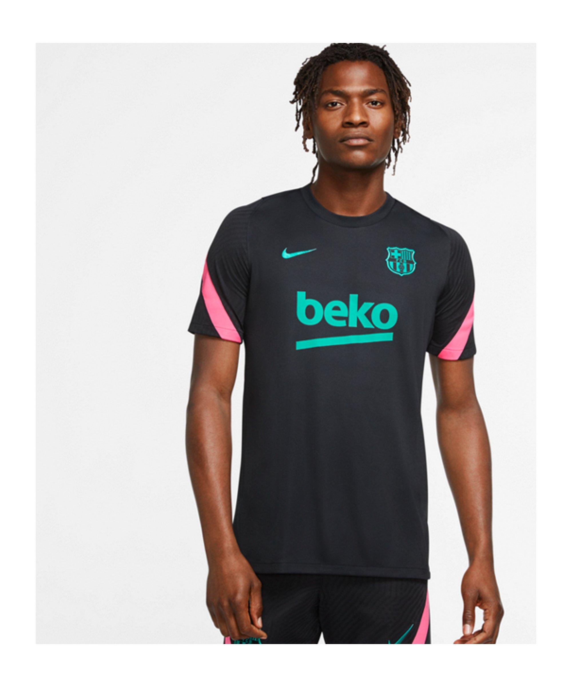 Nike FC Barcelona Trainingsshirt F011 - schwarz
