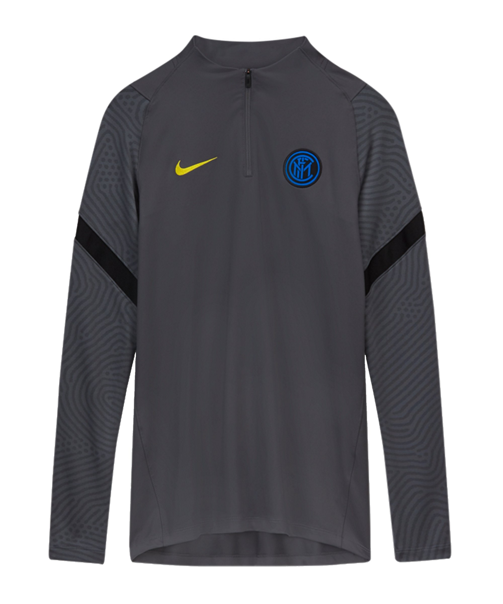 Nike Inter Mailand Strike Drill Top CL Grau F021 - grau