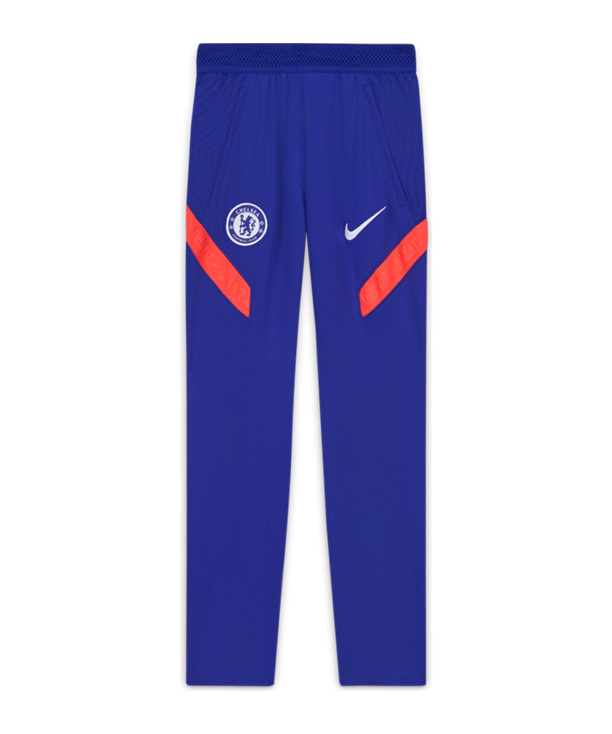 Nike FC Chelsea London Dry Strike Trainingshose CL Kids Blau F471 - blau