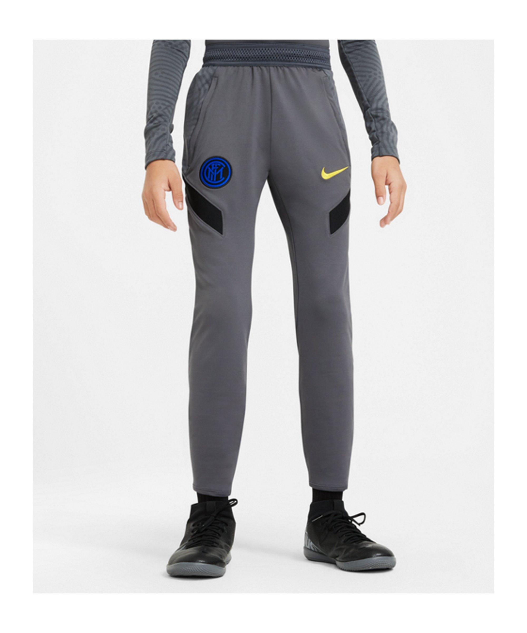 Nike Inter Mailand Trainingshose Kids F021 - grau