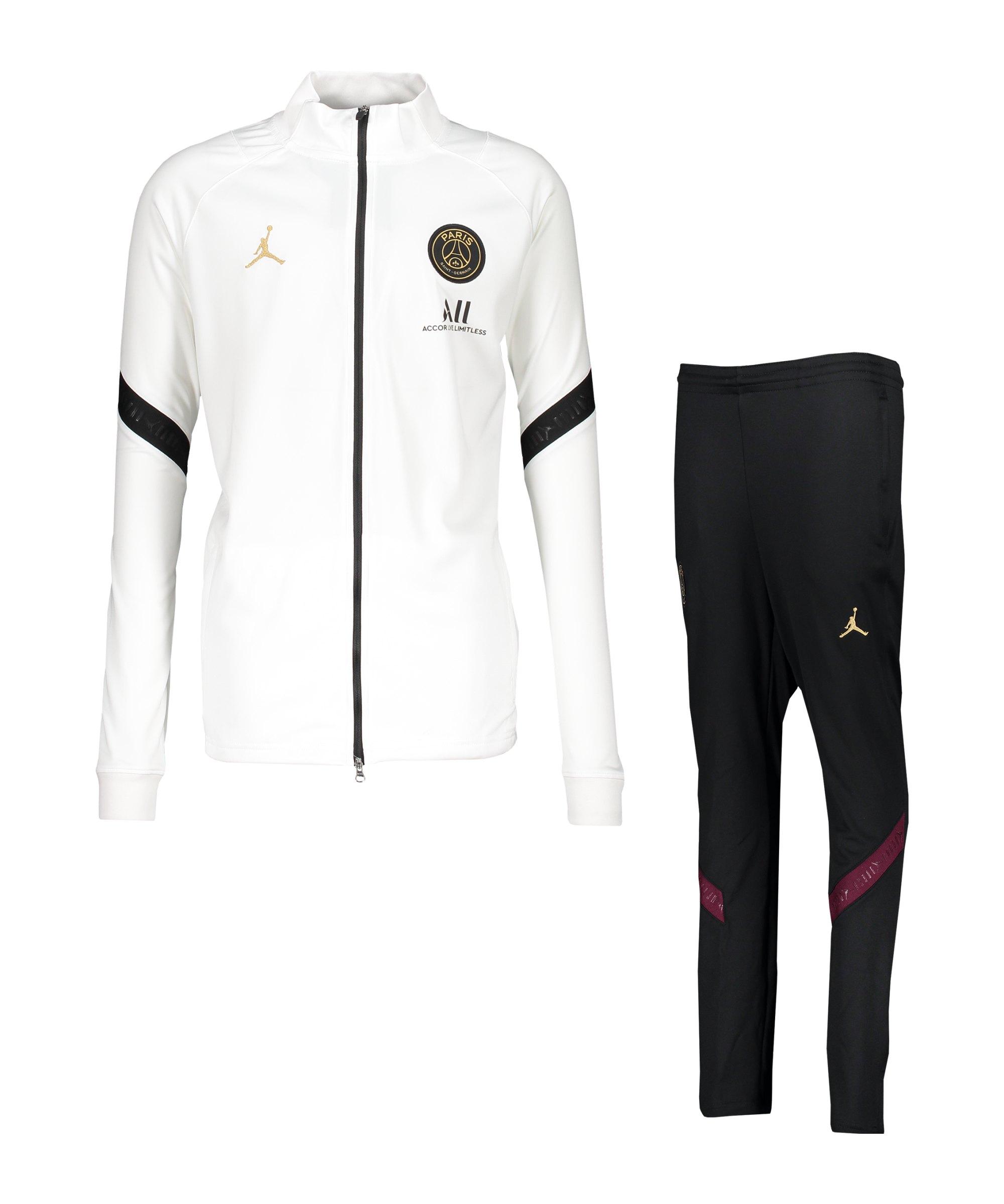 Nike Paris St. Germain Trainingsanzug CL Kids F100 - weiss