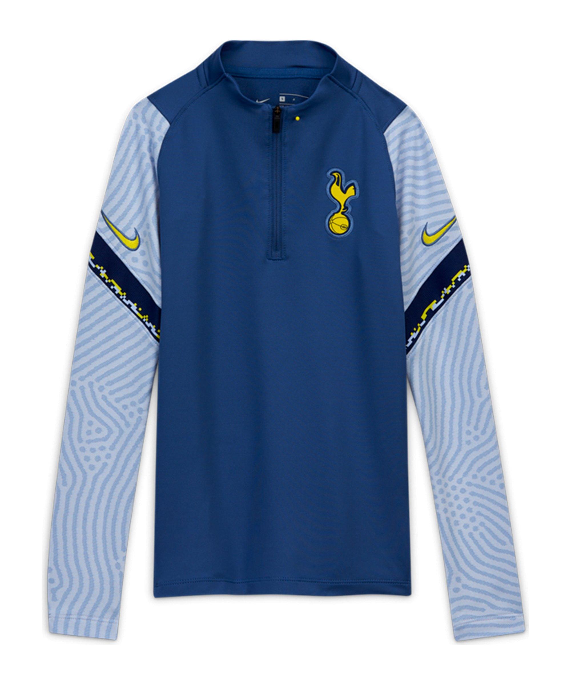 Nike Tottenham Hotspur Dry Strike Drill Top CL Kids Blau F469 - blau