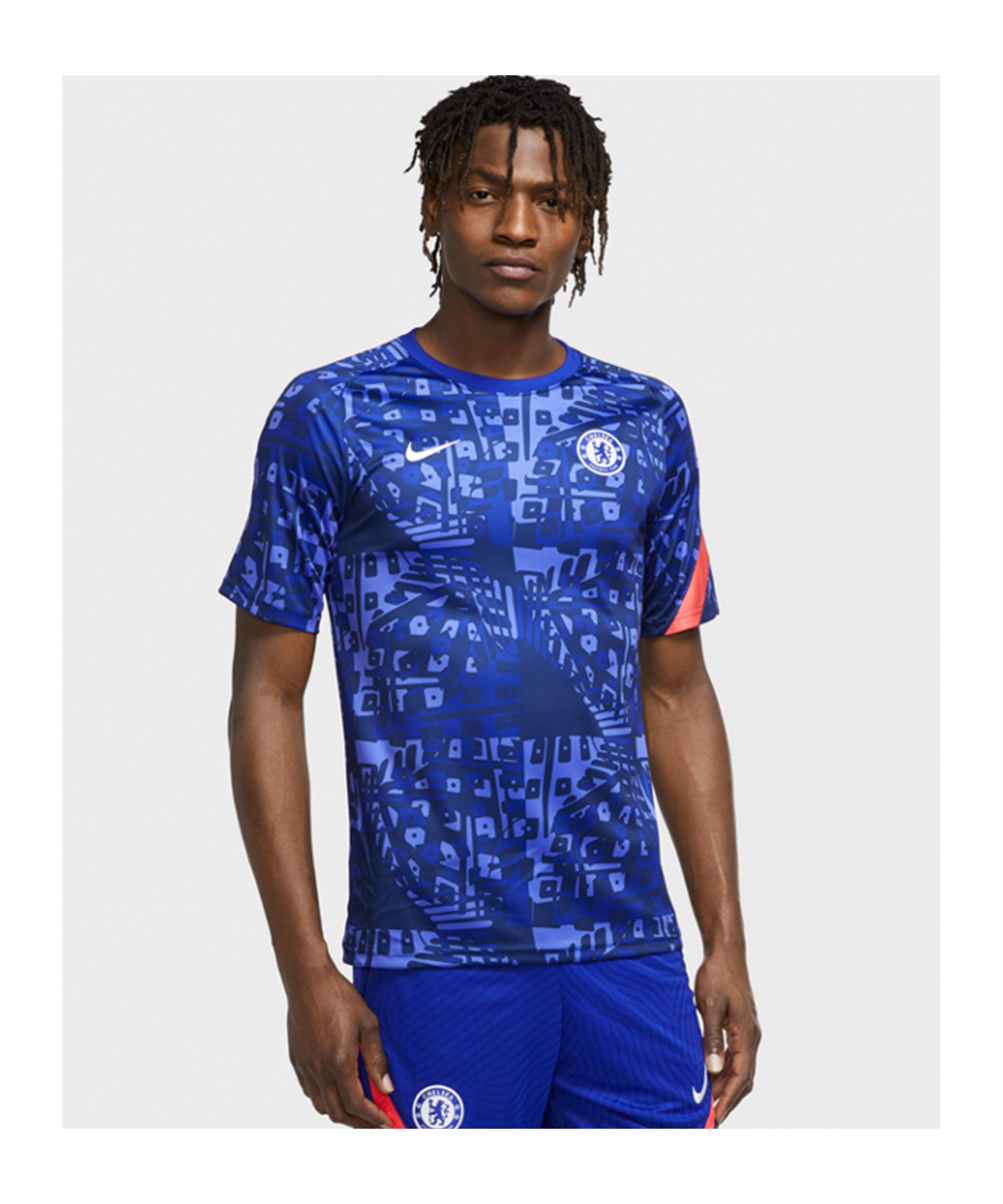 FC Chelsea London Dry Trainingsshirt CL Blau F472 - blau