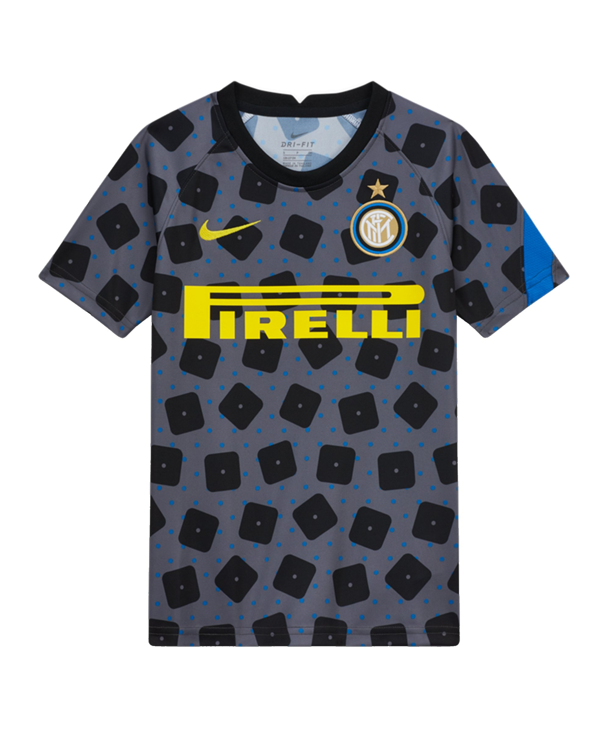 Nike Inter Mailand T-Shirt CL Kids F022 - grau