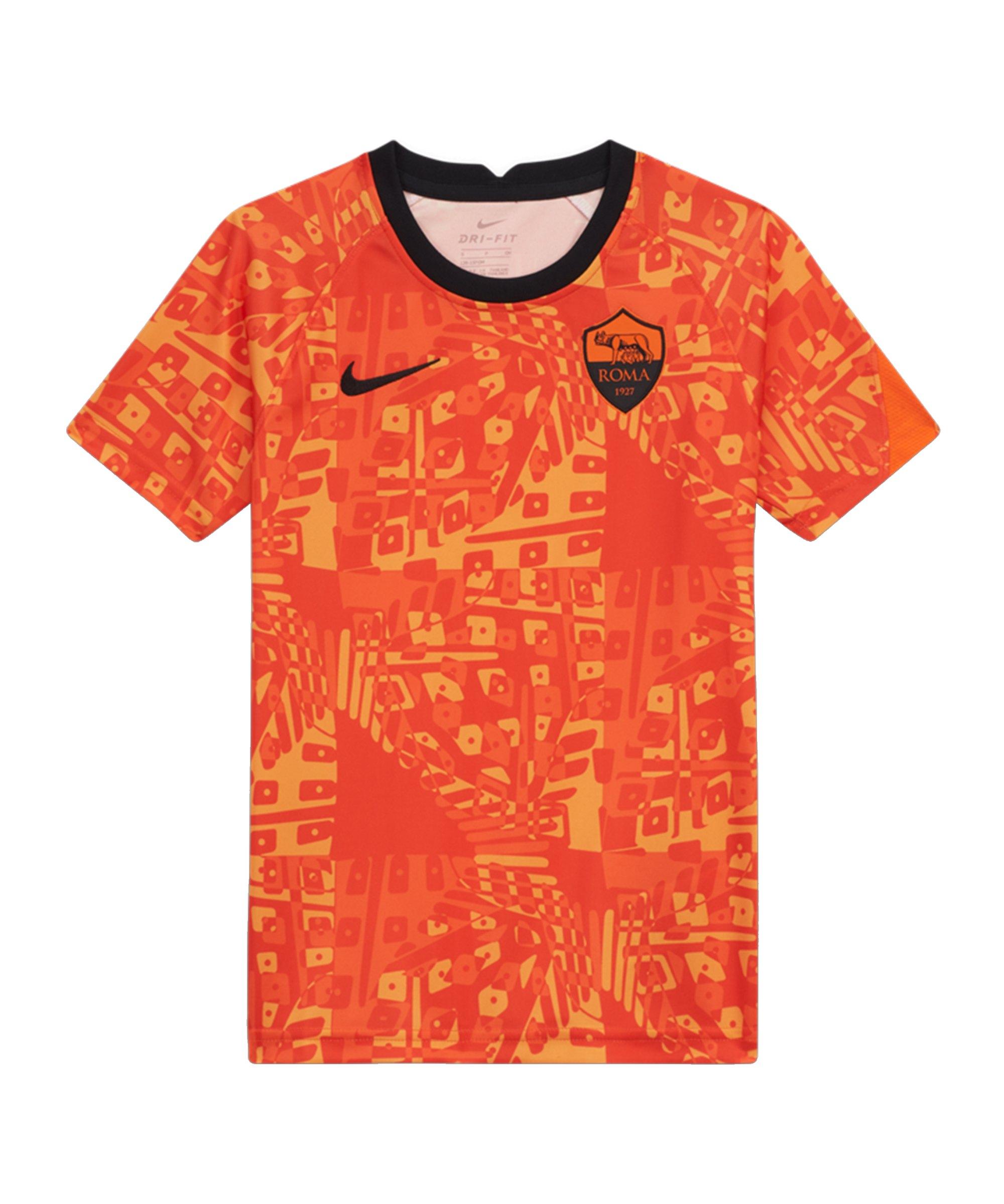 Nike AS Rom Dry Trainingsshirt CL Kids F819 - orange