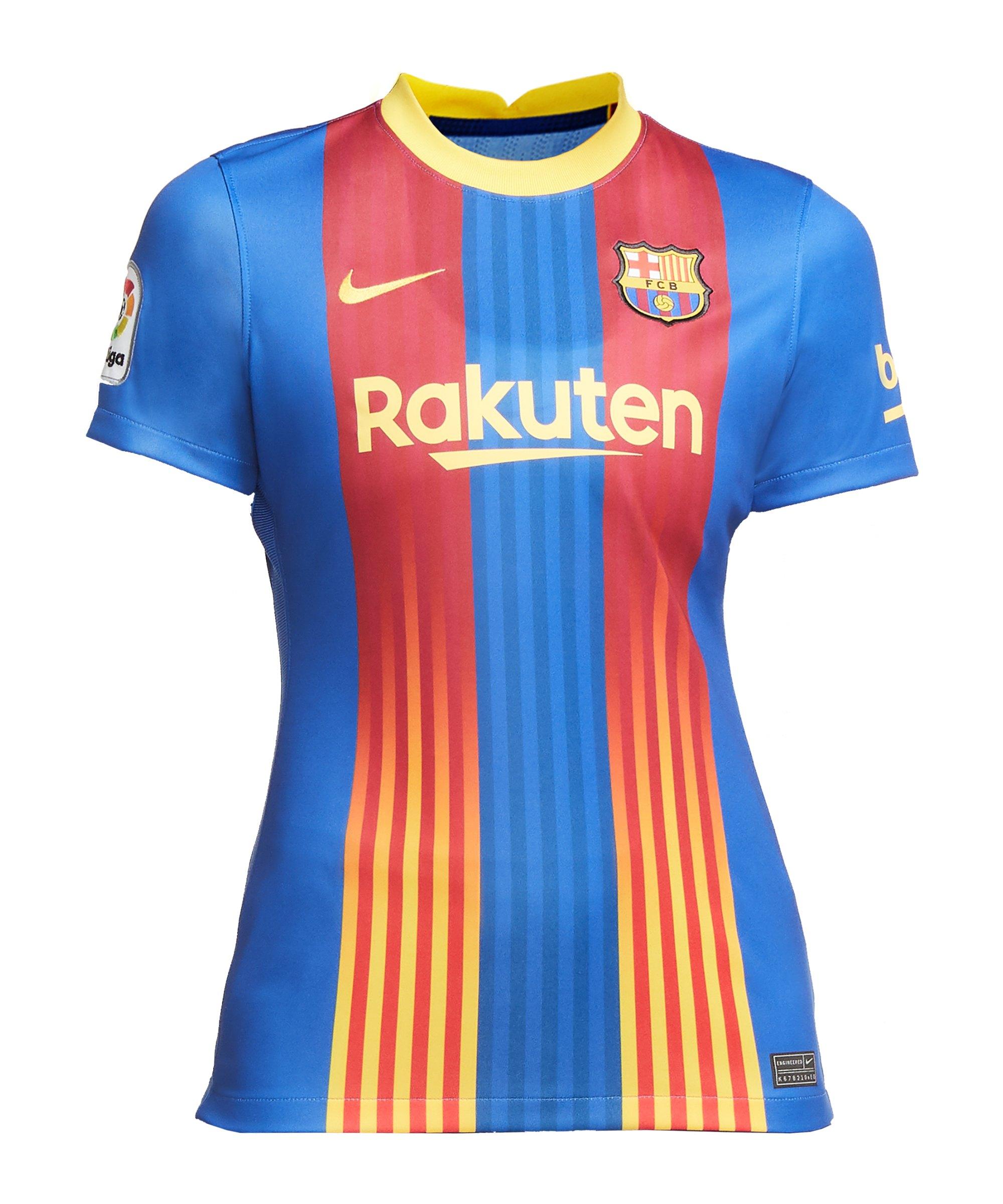 Nike FC Barcelona Trikot El Clásico 2020/2021 Damen Blau F481 - blau