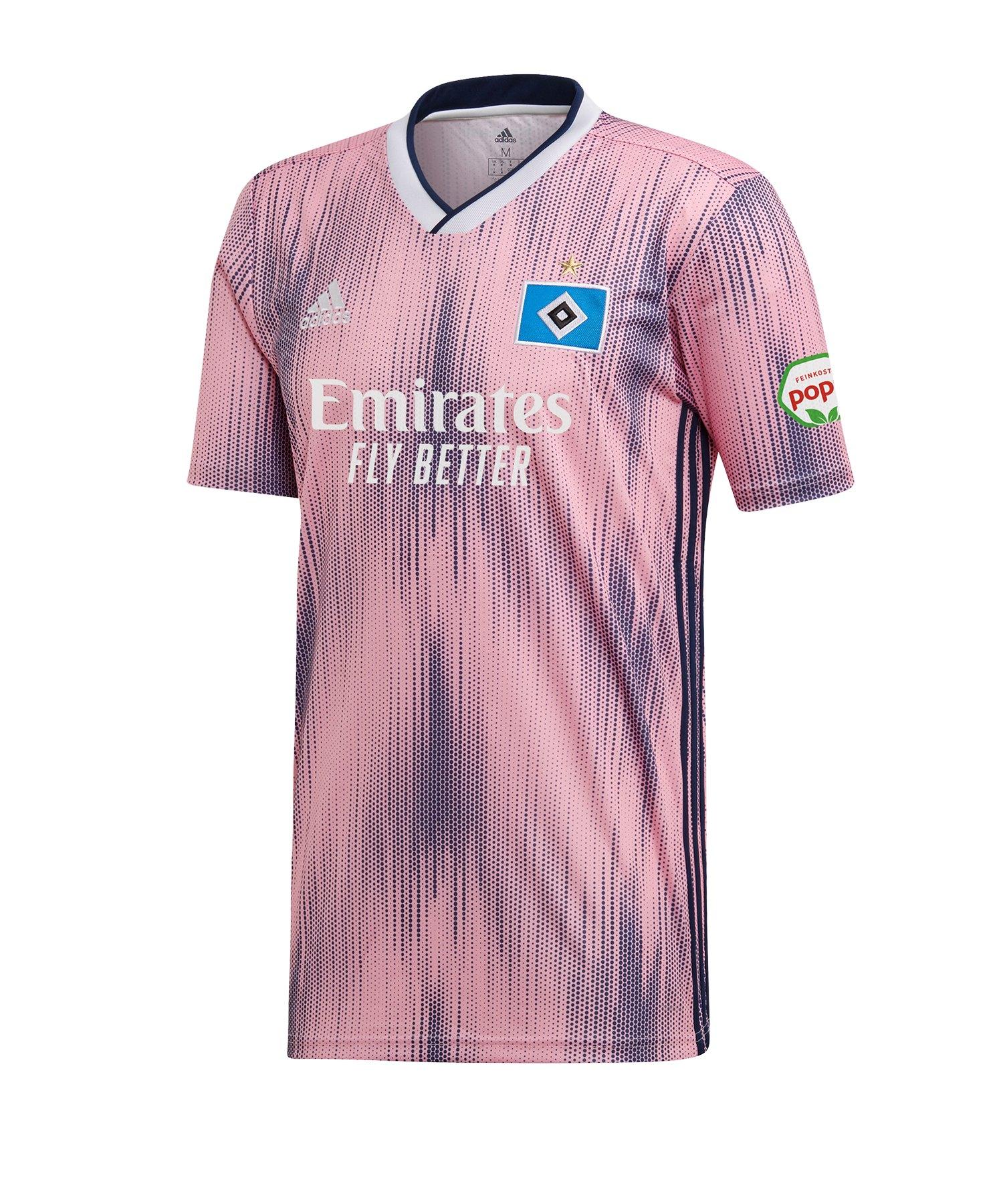 adidas Hamburger SV Trikot Away Kids 2019/2020 - rosa
