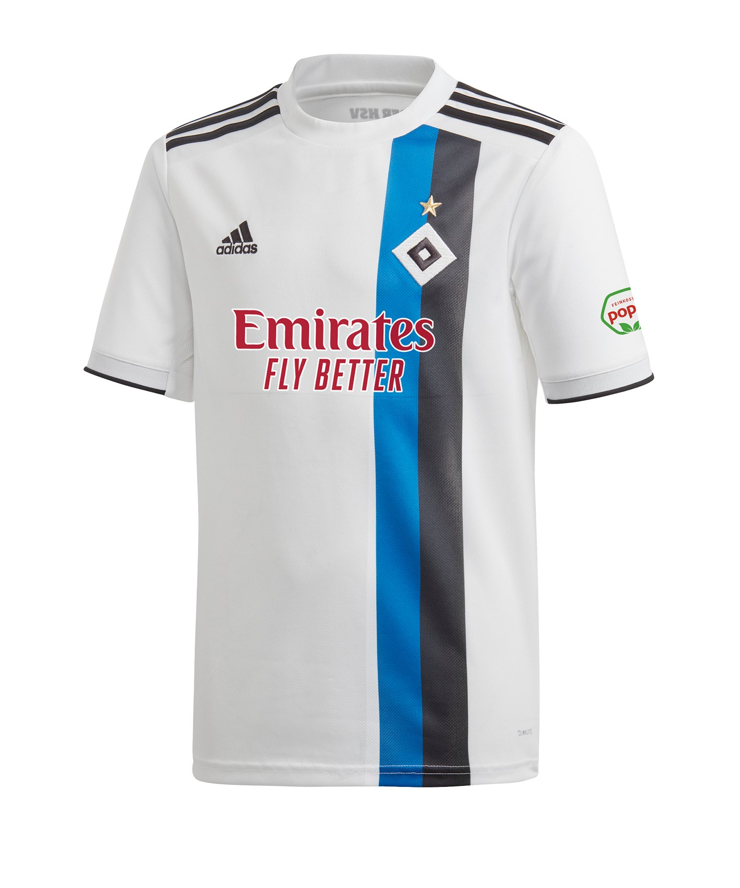 adidas Hamburger SV Trikot Home 2019/2020 Kids Weiss - weiss