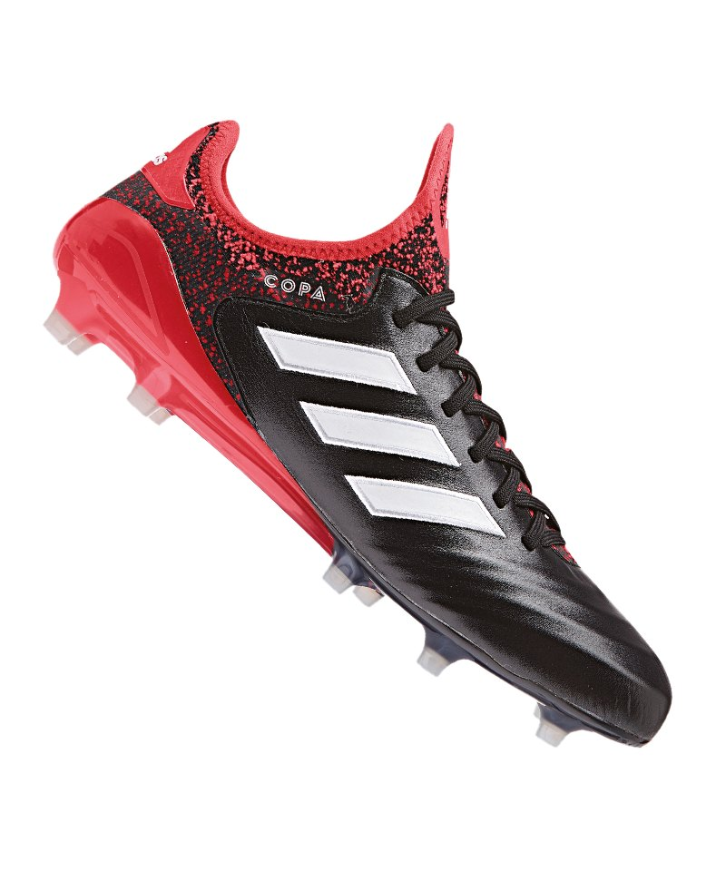 adidas COPA 18.1 FG Schwarz Rot - schwarz