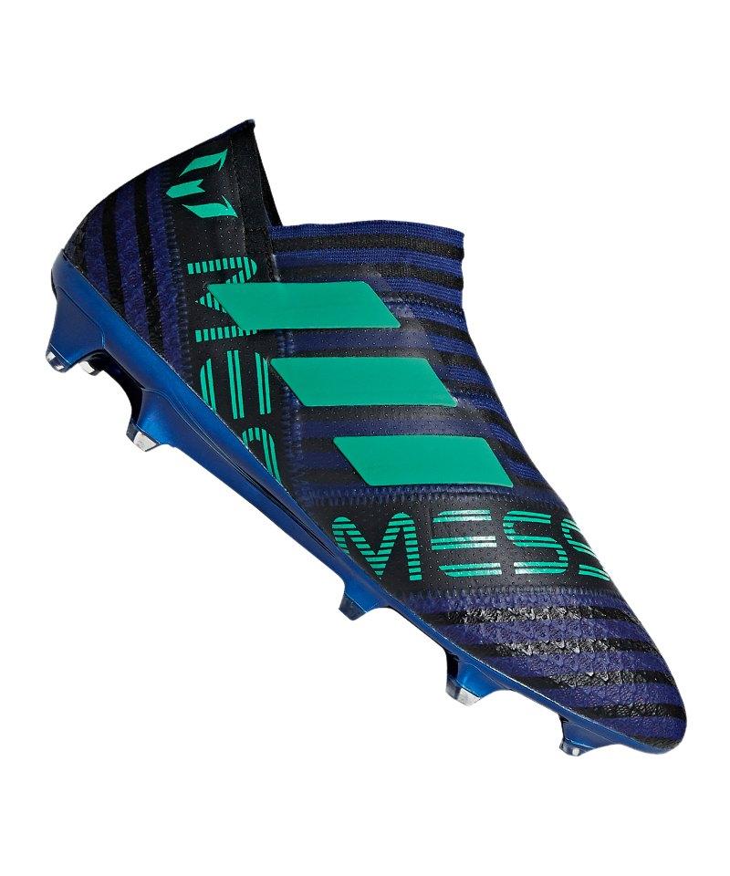 adidas NEMEZIZ Messi 17+ 360Agility FG Blau - blau