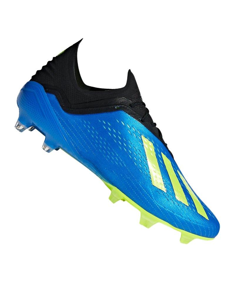 adidas X 18.1 FG Blau Gelb - blau