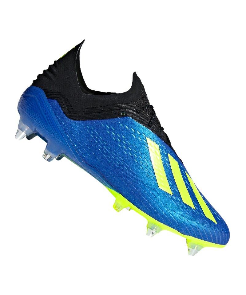 adidas X 18.1 SG Blau Gelb - blau