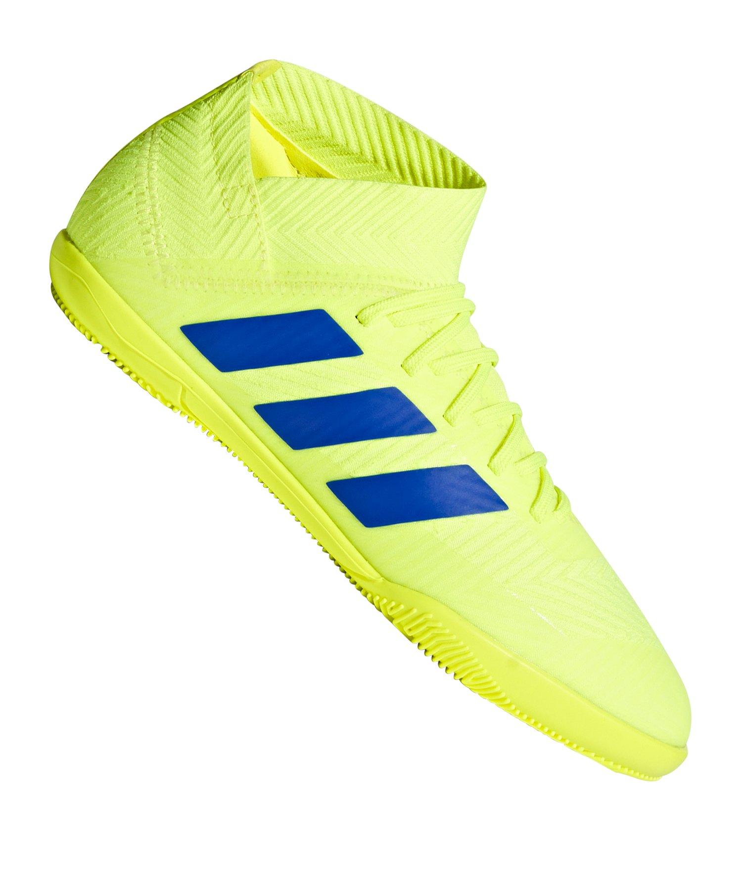 adidas NEMEZIZ 18.3 IN Halle J Kids Gelb Blau - gelb