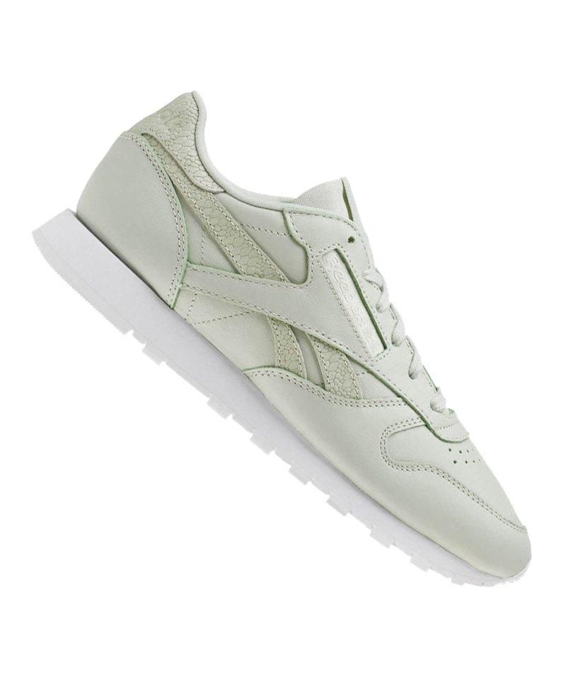 Reebok Classic Leather PS Pastel Sneaker Damen - gruen