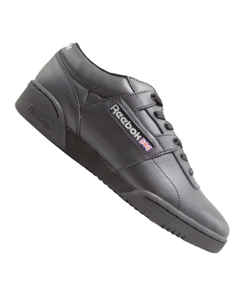 Reebok Workout Low Training Schwarz Grau - schwarz