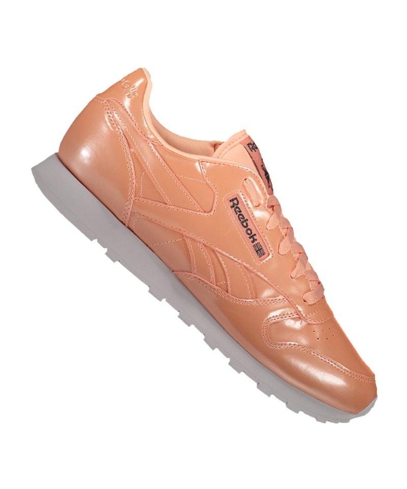 Reebok Classic Leather PP Sneaker Damen - rosa