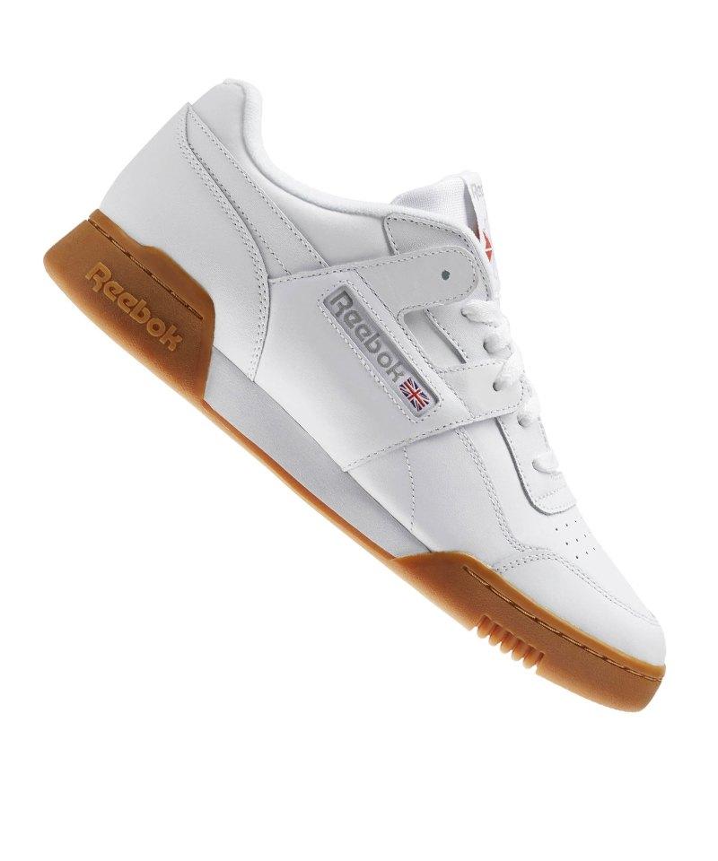 Reebok Workout Plus Sneaker Weiss - weiss