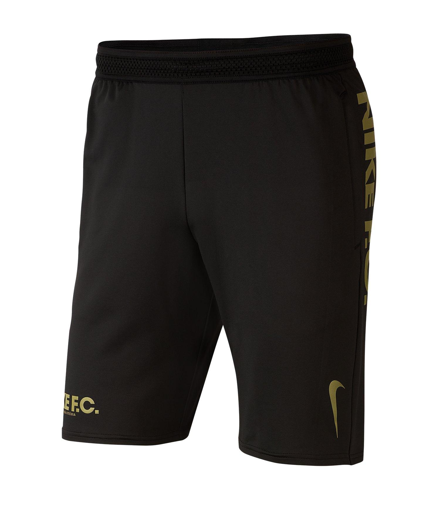 Nike F.C. Knit Short Schwarz F010 - schwarz