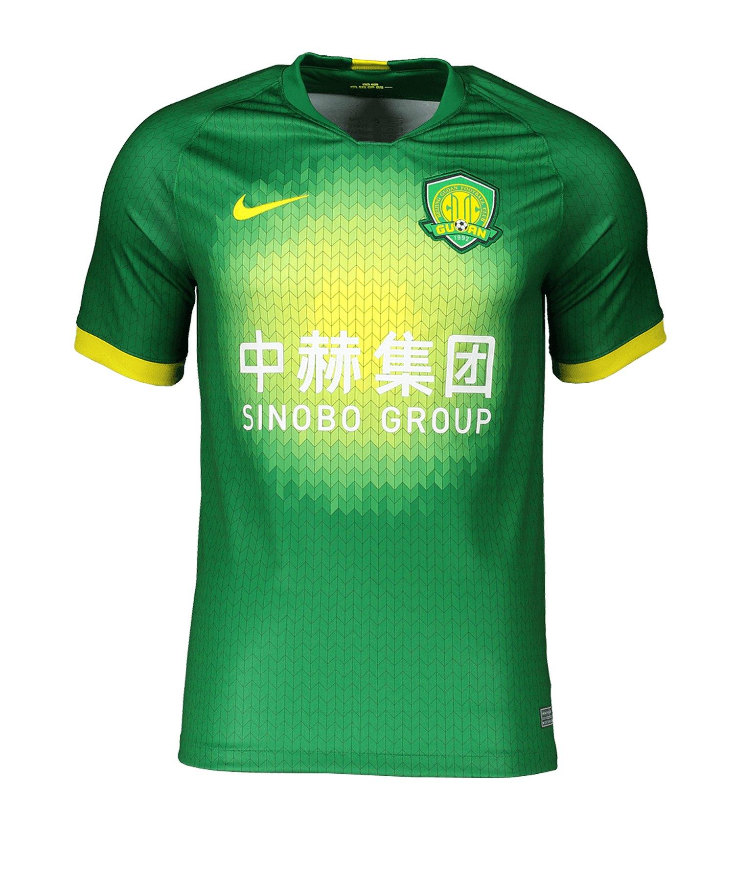 Nike Beijing Guoan Trikot Home 2020 Grün F305 - gruen
