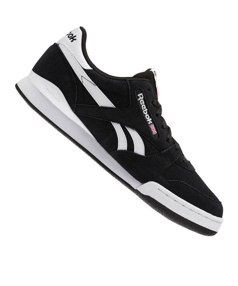 Reebok Phase 1 Pro MU Sneaker Schwarz Weiss - schwarz