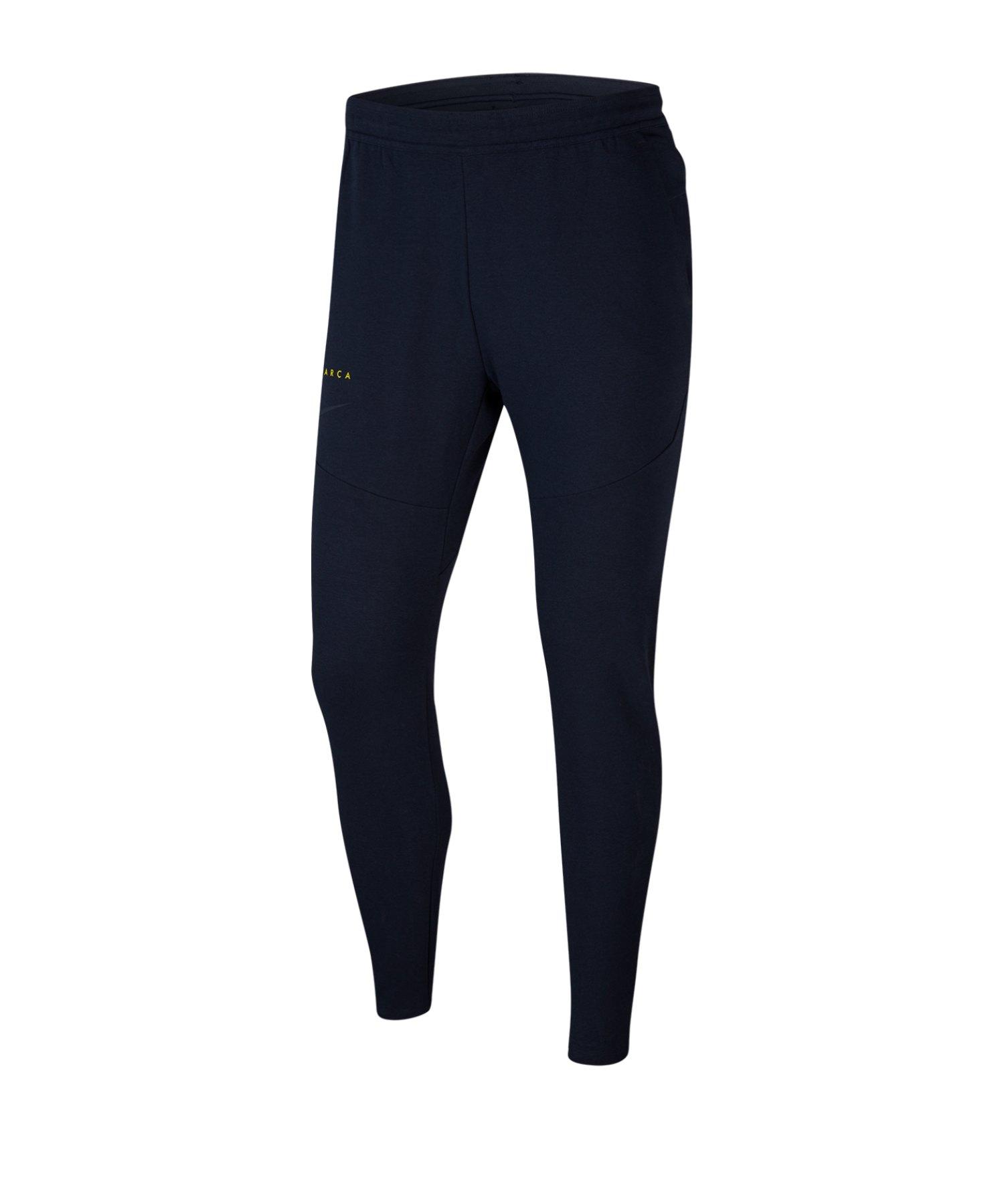 Nike FC Barcelona Tech Pants Hose lang Blau F475 - blau