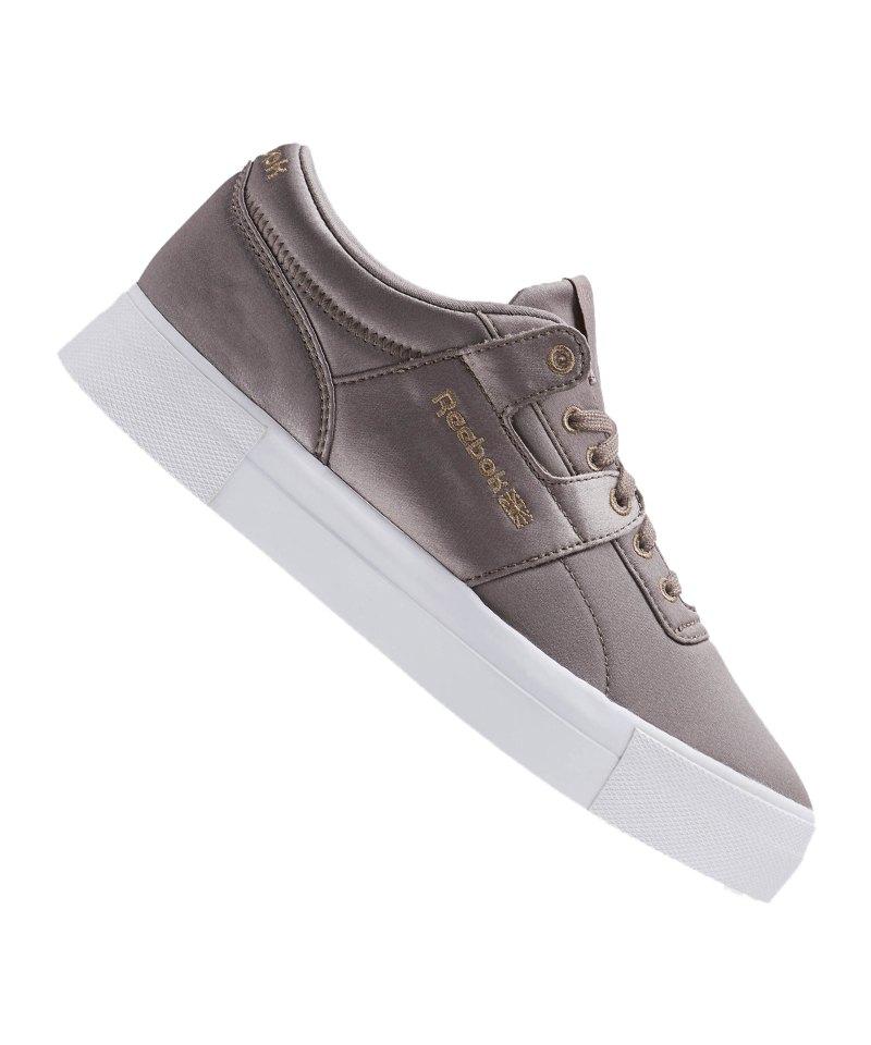 Reebok Workout LO FVS TXT Sneaker Grau Blau - grau
