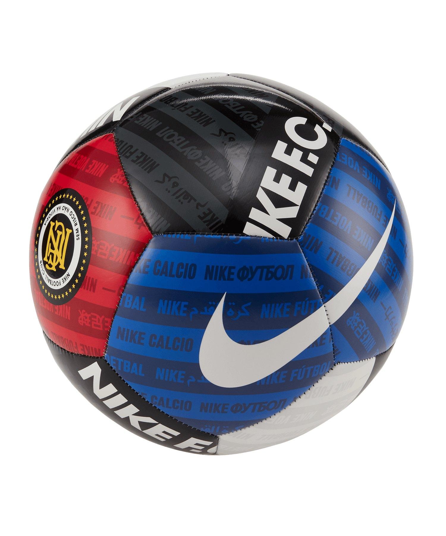Nike F.C. Trainingsball Weiss F100 - weiss