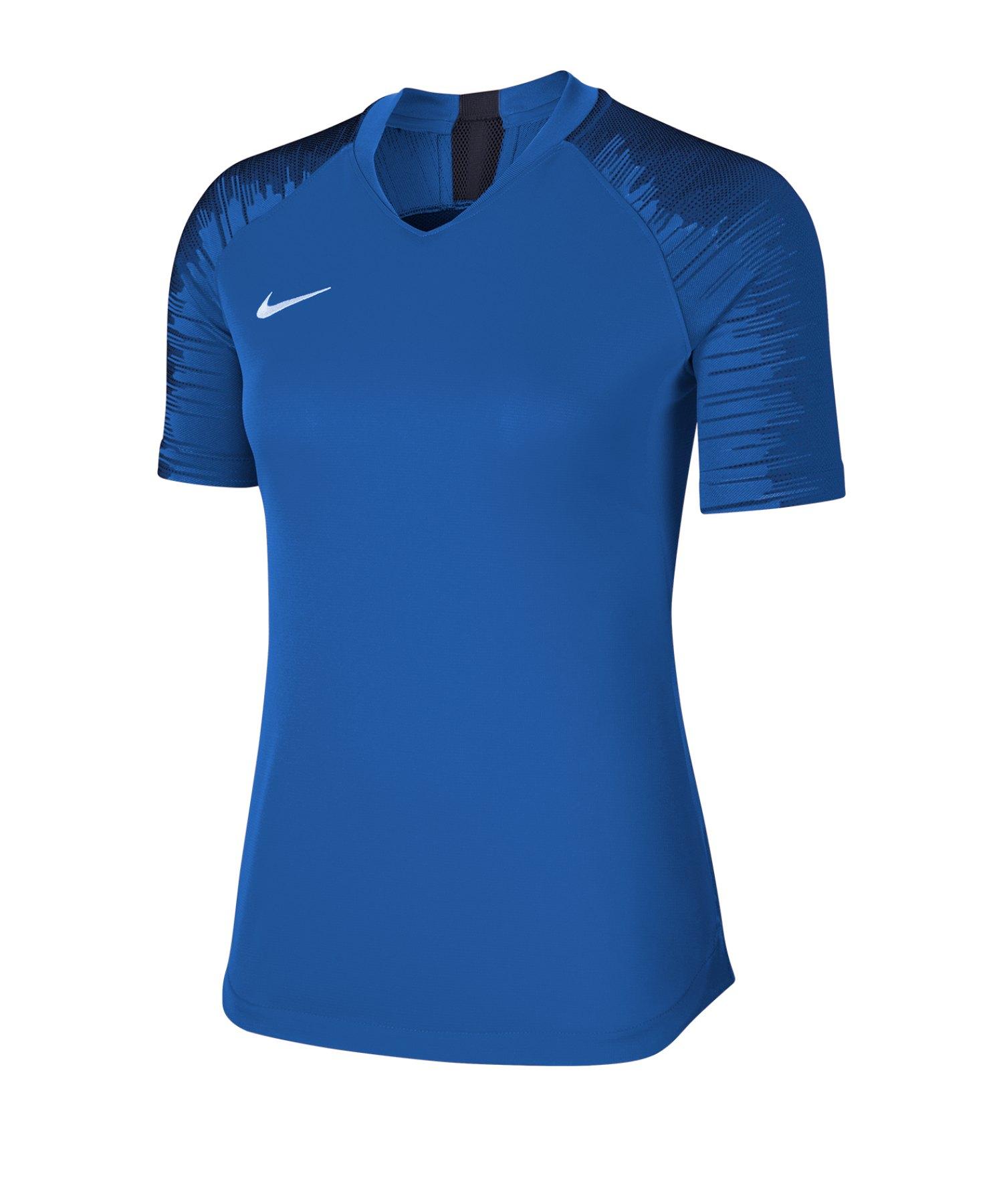 Nike Strike Trikot kurzarm Damen Blau F463 - blau