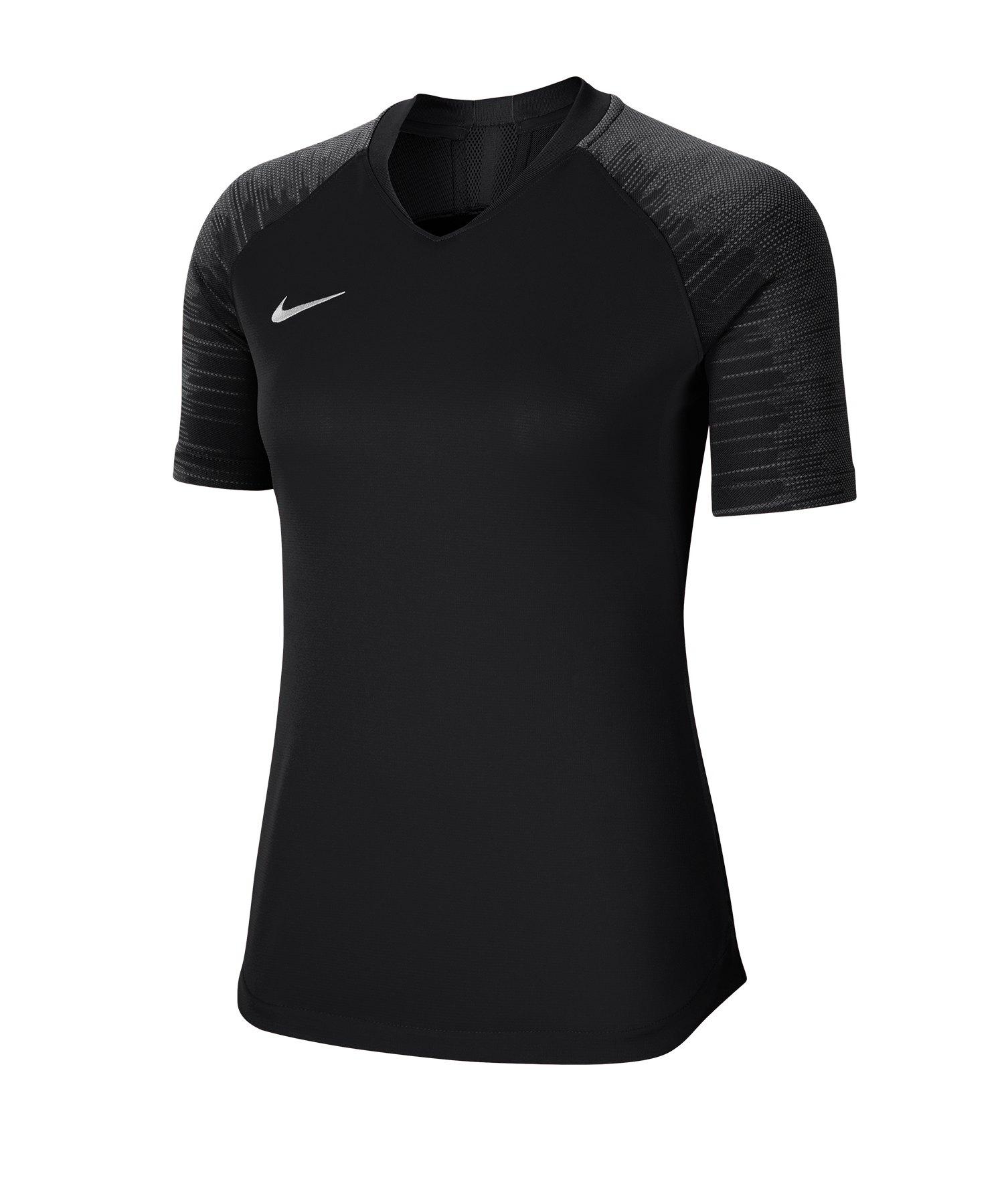 Nike Strike Trikot kurzarm Damen Schwarz F010 - schwarz