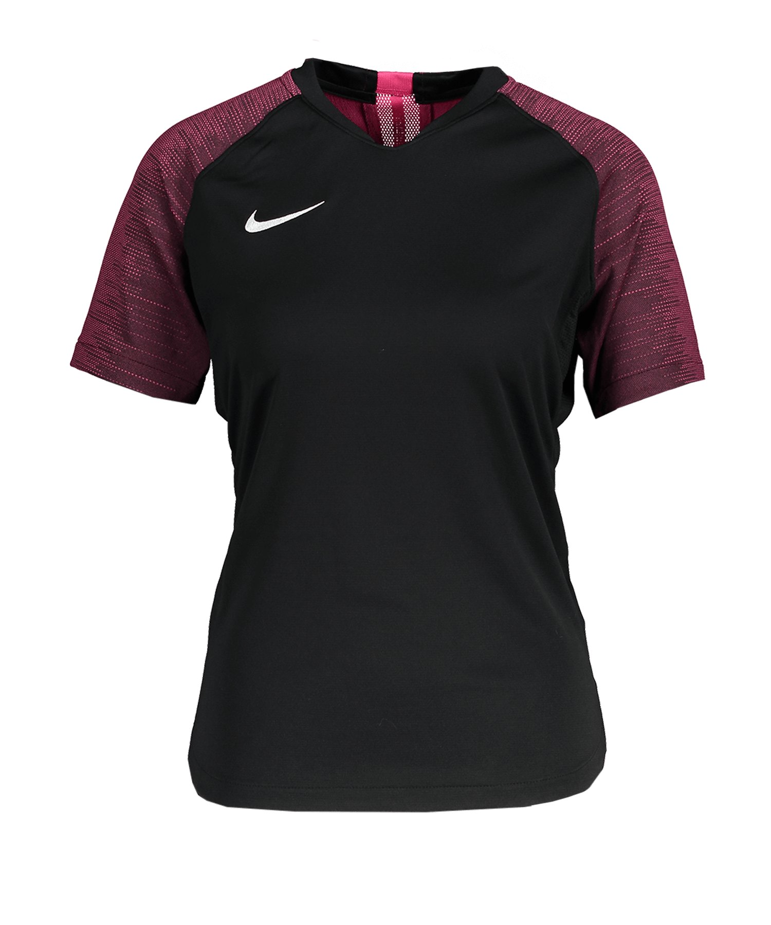 Nike Strike Trikot kurzarm Damen Schwarz F011 - schwarz