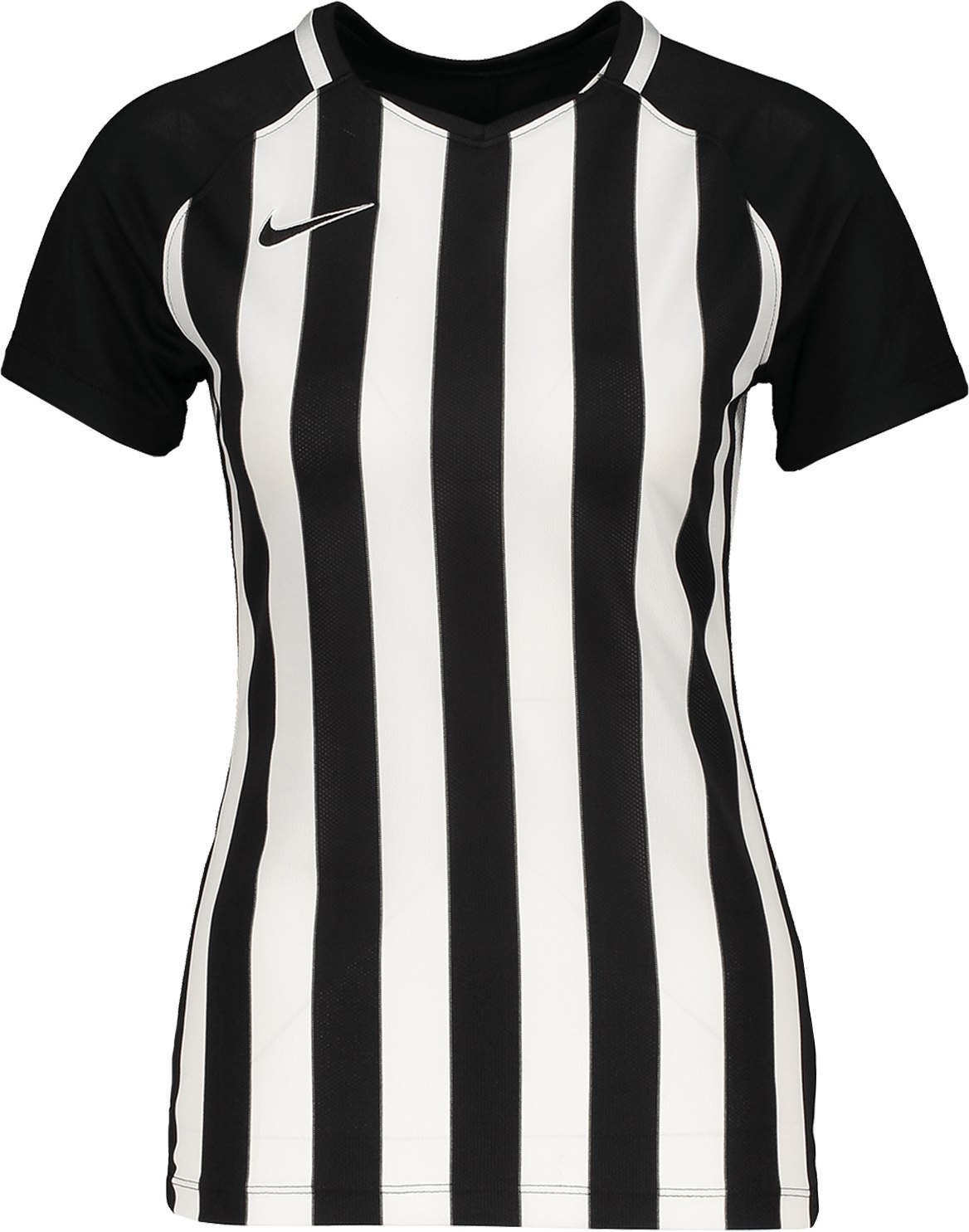 Nike Striped Division III Trikot KA Damen F010 - weiss