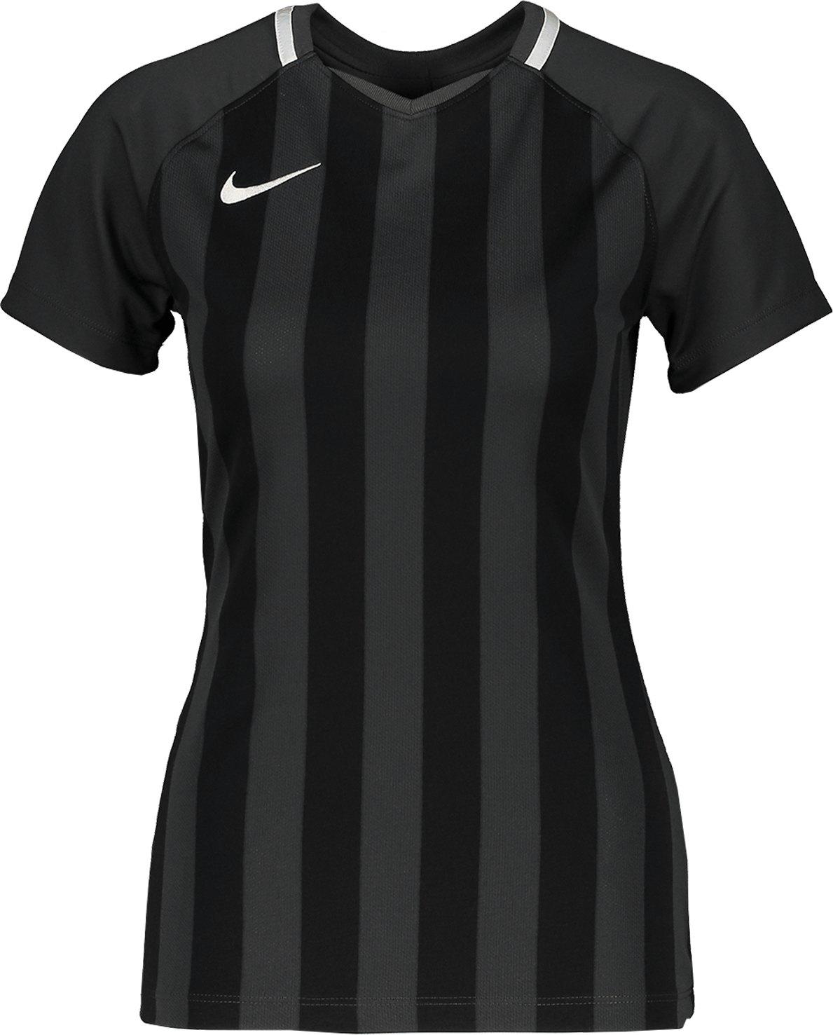 Nike Striped Division III Trikot KA Damen F060 - schwarz