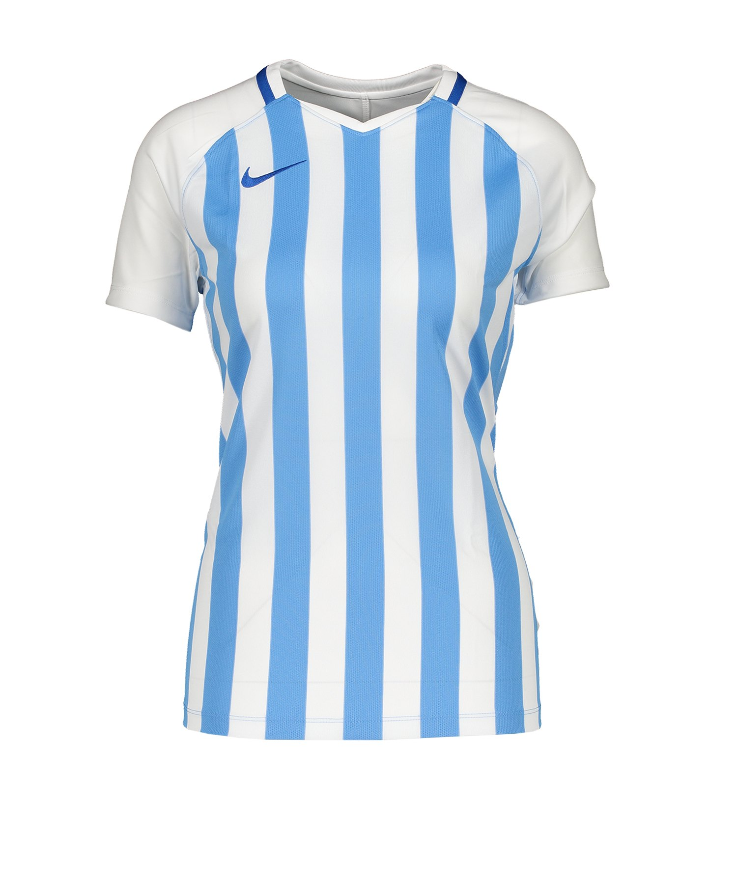 Nike Striped Division III Trikot KA Damen F413 - blau