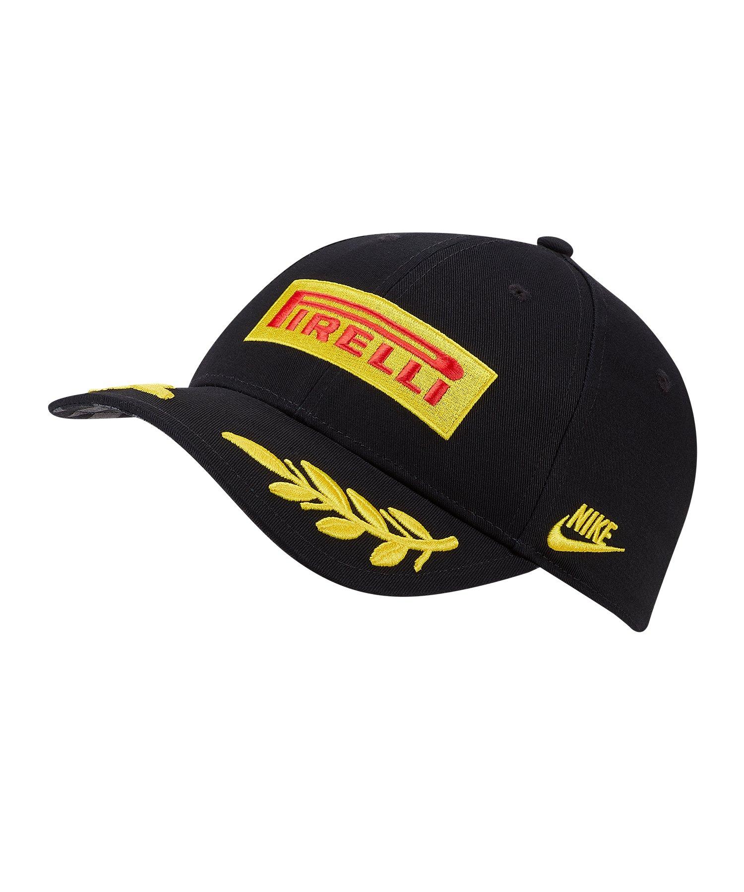 Nike Inter Mailand Pirelli Cap Kappe Schwarz F010 - schwarz