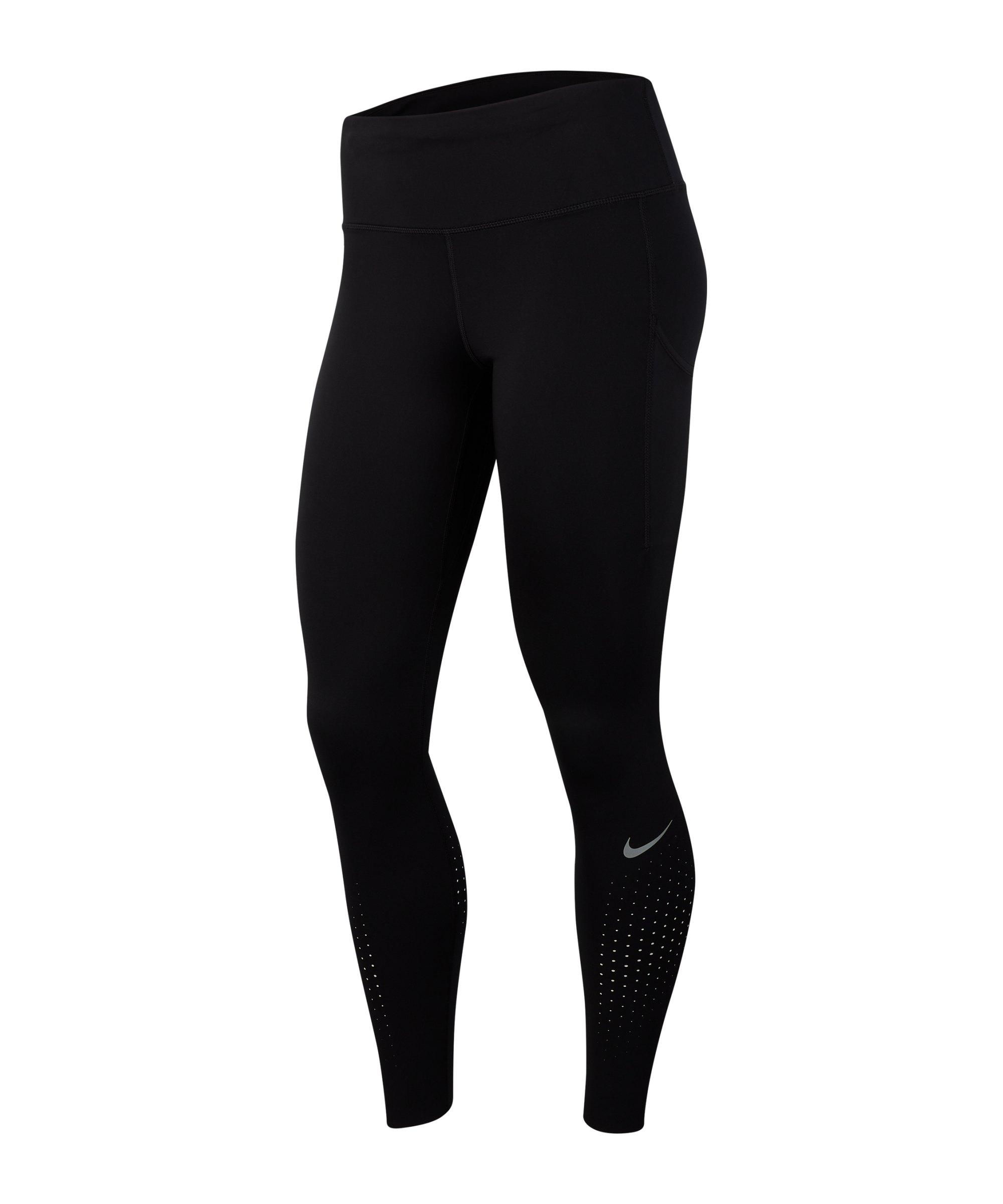 Nike Epic Lux Tight Running Damen Schwarz F010 - schwarz