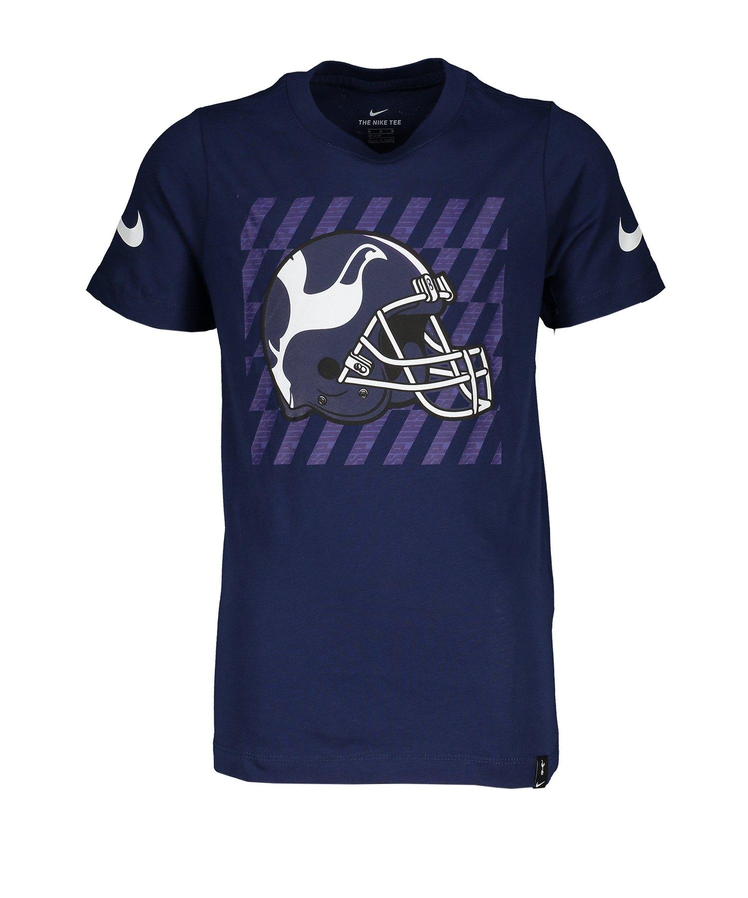 Nike Tottenham Hotspur Tee T-Shirt Kids Blau F429 - blau