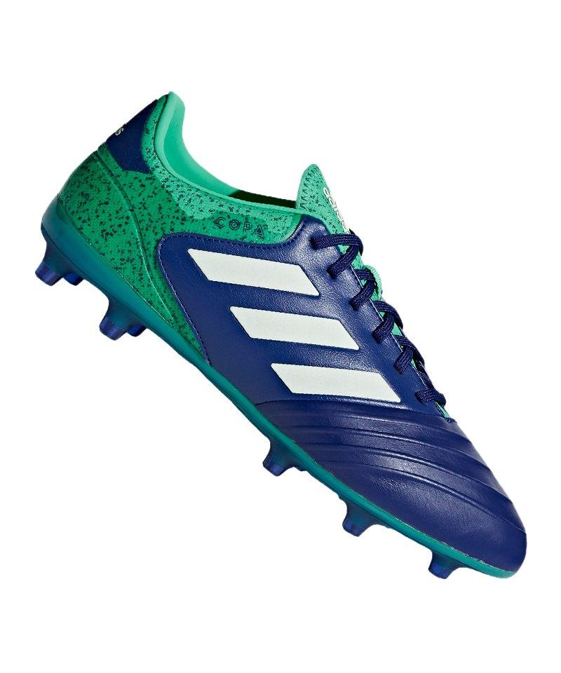 adidas COPA 18.2 FG Blau Grün - blau