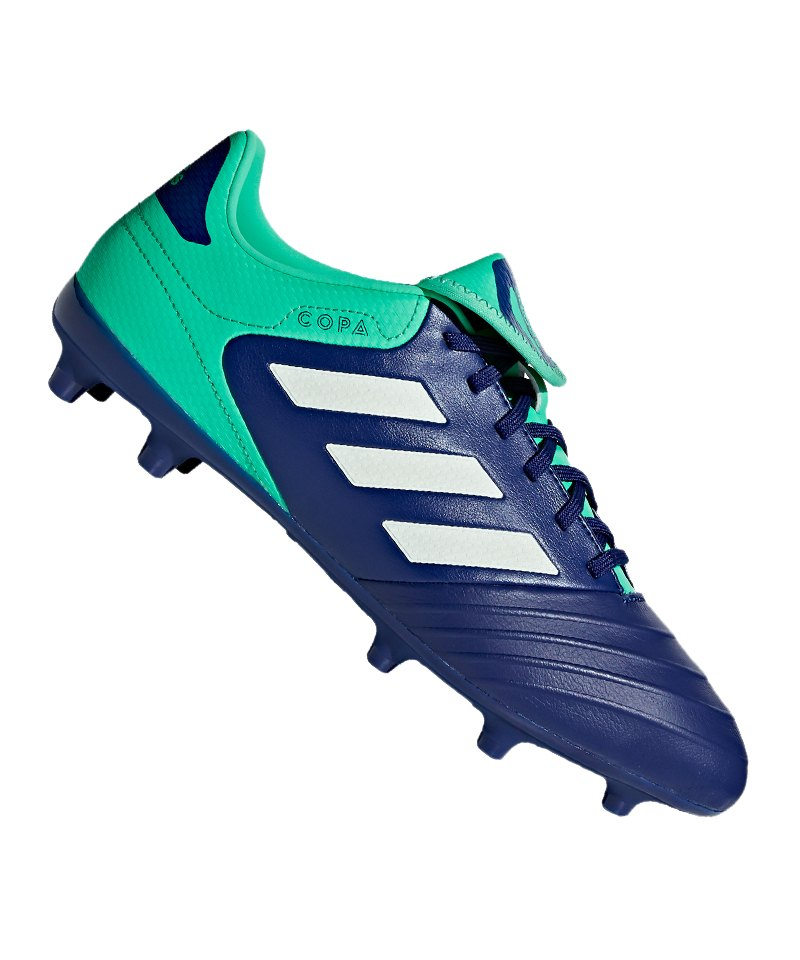 adidas COPA 18.3 FG Blau Grün - blau
