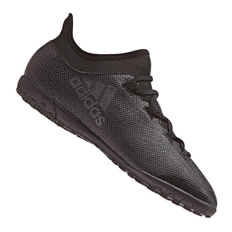 adidas X Tango 17.3 TF J Kids Schwarz - schwarz