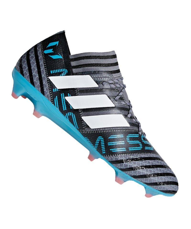 adidas NEMEZIZ Messi 17.1 FG Grau Blau - grau