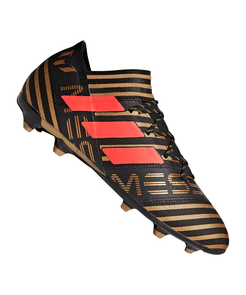 adidas NEMEZIZ Messi 17.2 FG Schwarz Rot - schwarz