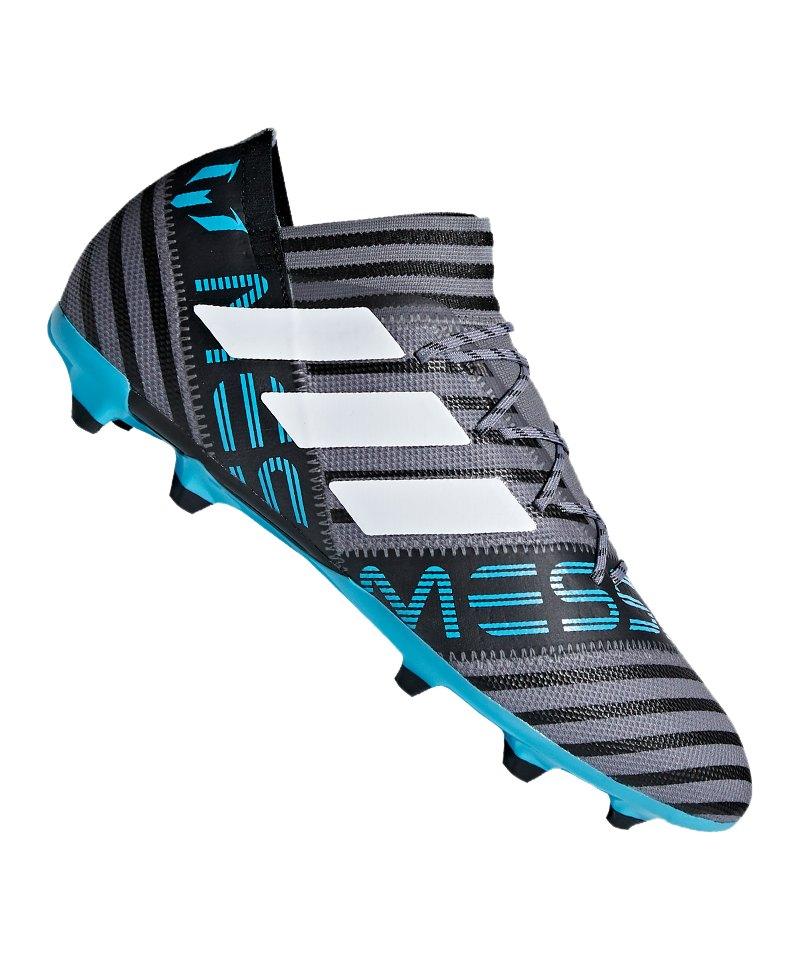 adidas NEMEZIZ Messi 17.2 FG Grau Blau - grau