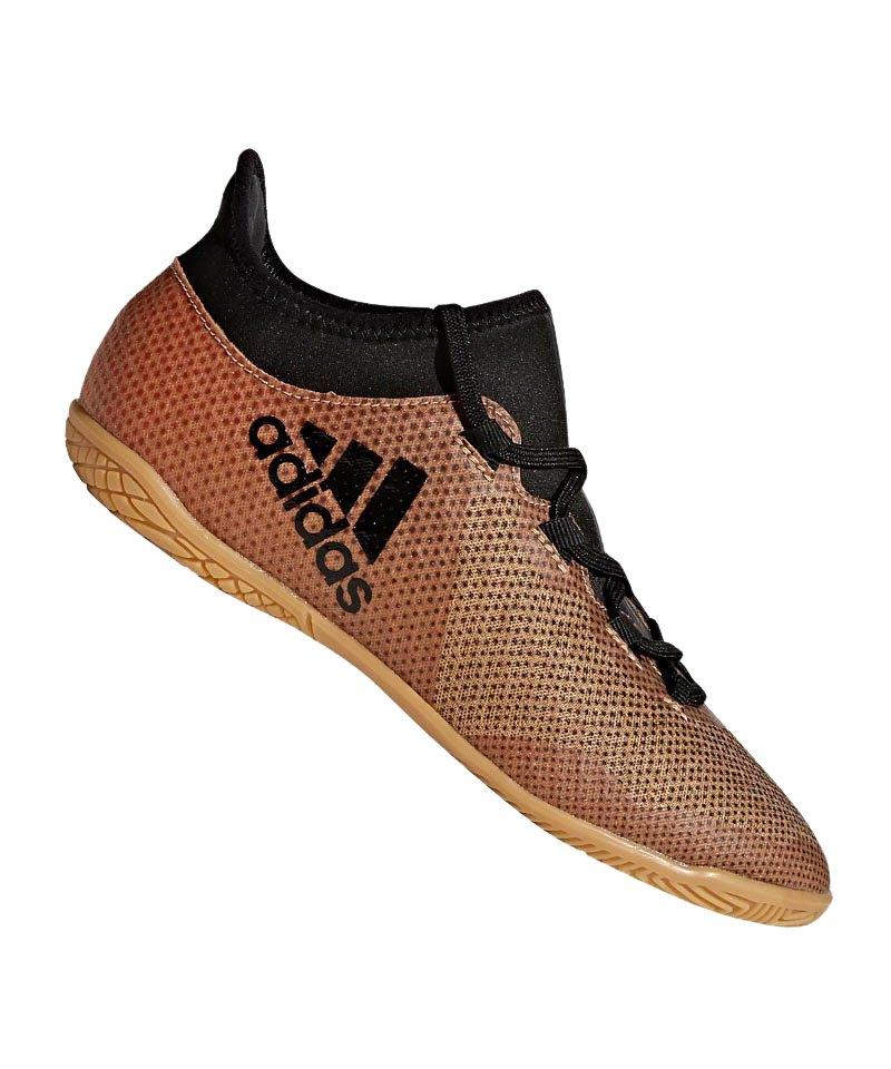 adidas X Tango 17.3 IN Halle J Kids Gold Schwarz - gold