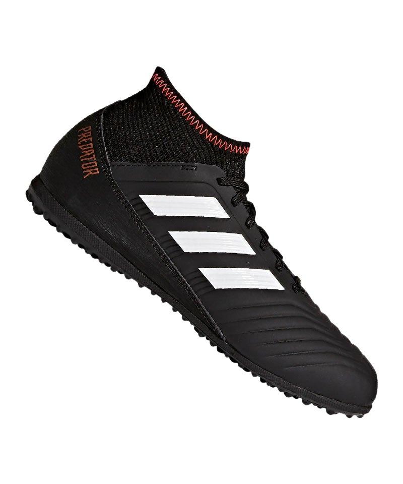 adidas Predator Tango 18.3 TF J Kids Schwarz Weiss - schwarz