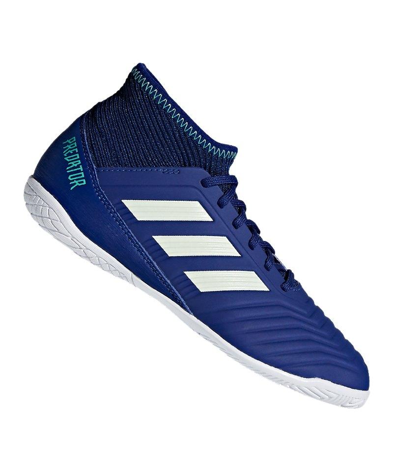 adidas Predator Tango 18.3 IN J Kids Blau Grün - blau