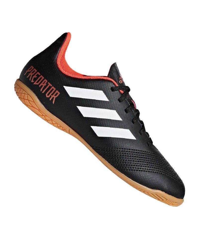 adidas Predator Tango 18.4 IN Halle J Kids Schwarz - schwarz
